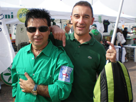 Emilio Paradiso (a sinistra)