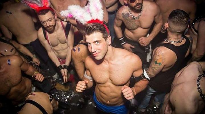 Gay black beach parties