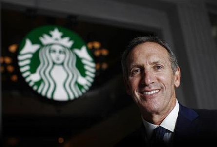 Howard Schultz, CEO di Starbucks