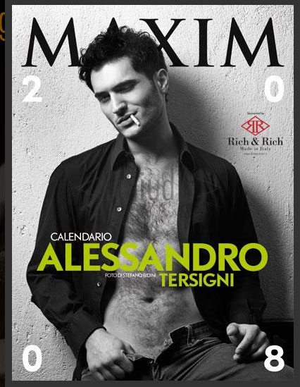 Calendari 2008: Alessandro Tersigni