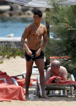 Ronaldo in Sardegna