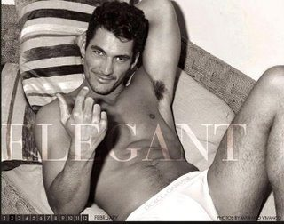 Calendari 2008: David Gandy per Dolce&Gabbana