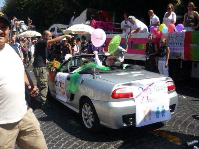 Roma Pride 2009 I carri