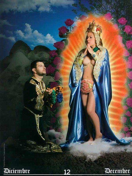 La Madonna? È trans nel calendario del COGAM