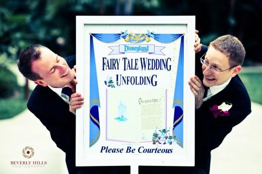 Eric e Mat: romantiche nozze a Disneyland con tanto di zucca