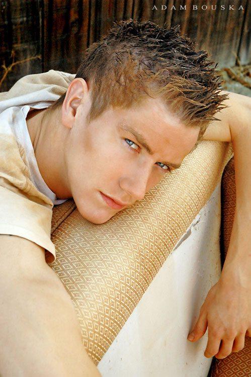 Modelli: il giovanissimo Christian Yanik
