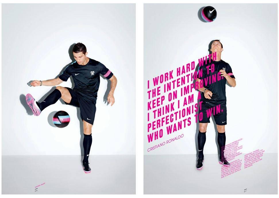 Cristiano Ronaldo per la collezione CR7 di Nike Football