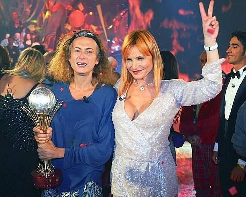 Le foto della vittoria di Vladimir Luxuria