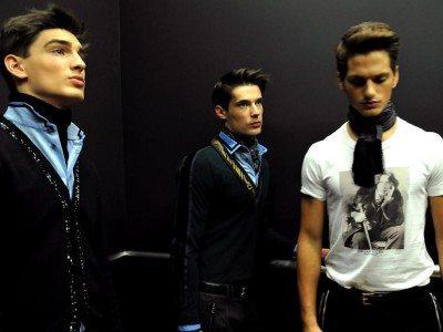 Sfilate Milano Uomo: il backstage D&G