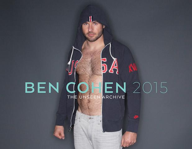 Gli scatti bollenti Ben Cohen per il calendario 2015