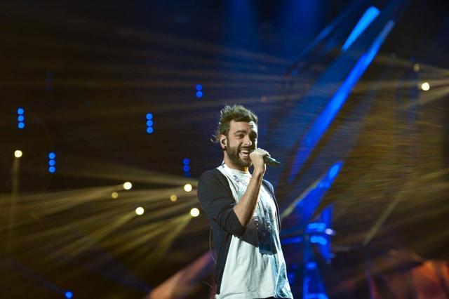 Marco Mengoni all'Eurovision: il backstage e le prove