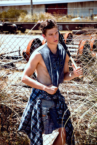 Saxon Dunworth: il ventenne australiano che vi farà impazzire