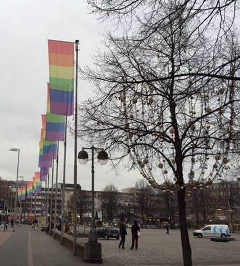 Manif Pour Tous manifesta ad Hannover e la città l\