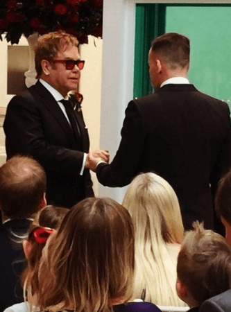 Elton John e David Furnish si sono sposati: foto