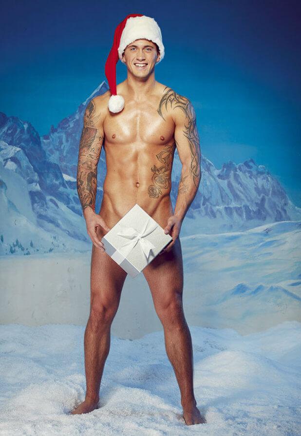 Dan Osborne resta nudo e si candida come Babbo Natale sexy dell'anno