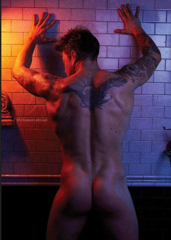 Duncan James resta nudo su Attitude: immagini mozzafiato