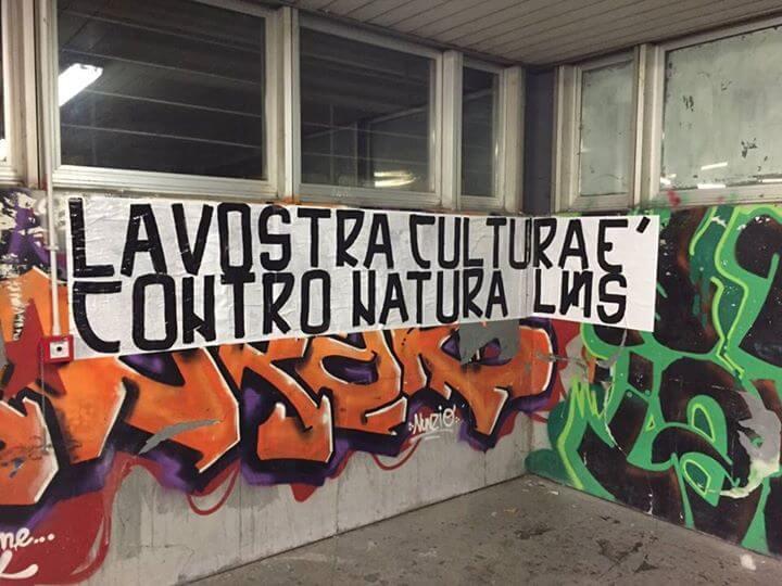Omofobia, nuovi striscioni nelle scuole di Roma