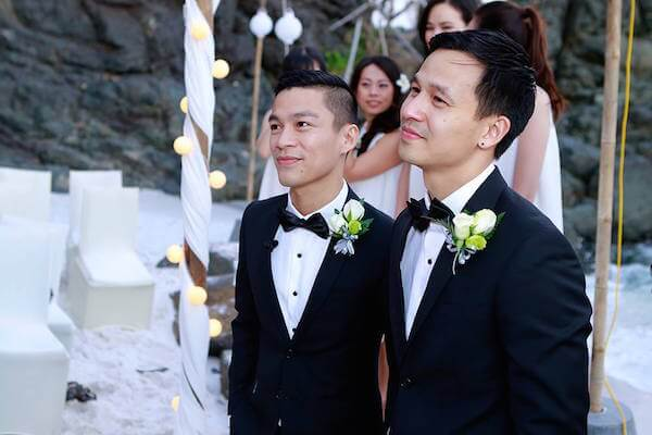 Matrimoni gay in Vietnam, le immagini dal primo celebrity wedding
