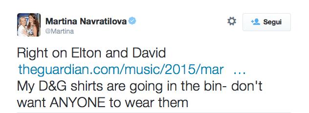 Non solo Elton John: tutti i vip contro Dolce & Gabbana