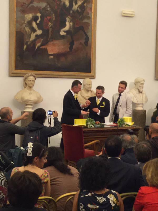 Celebration Day a Roma: 22 coppie si registrano in Campidoglio
