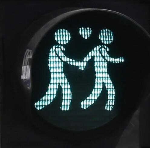 Vienna: il semaforo diventa gay friendly per l'Eurovision 2015