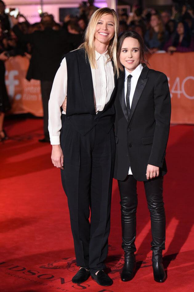 Ellen Page: il red carpet del TIFF con la compagna Samantha Thomas
