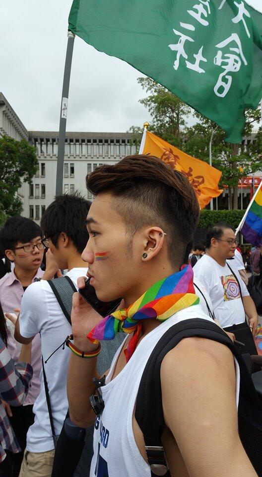 Gay Pride a Taiwan la notte di Halloween
