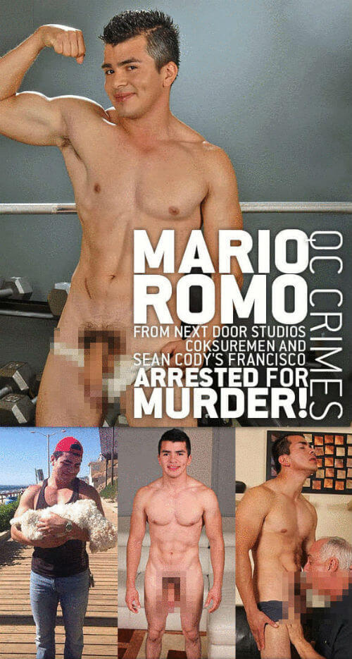 Gay porno star uccide con la sua ragazza un milionario texano. Arrestati.