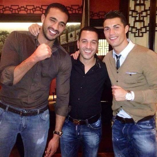 Cristiano Ronaldo è gay e sta con Badr Hari: lo dicono sulla tv francese
