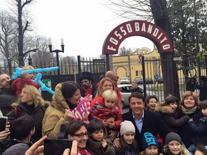 Matteo Renzi incontra le Famiglie Arcobaleno
