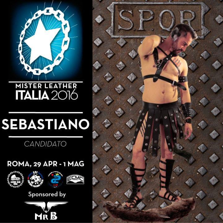 Arriva il nuovo Mister Leather Italia!