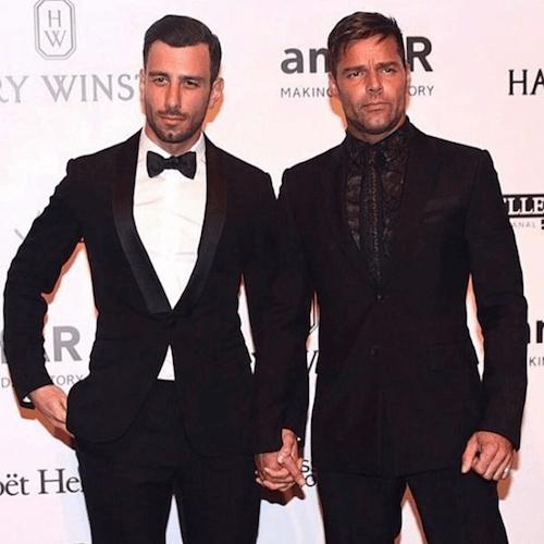 Ricky Martin ha un nuovo fidanzato! Ma bacia un\