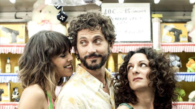 TELEVISION Paco Leon director y protagonista de la pelicula Kiki el amor se hace junto a las actrices Belen Cuesta y Ana Katz