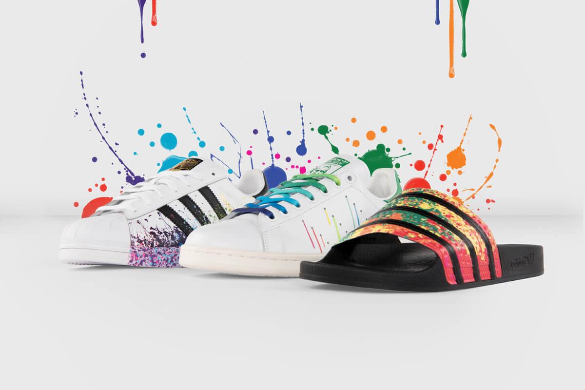 scarpe adidas arcobaleno prezzo