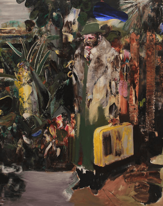 2014Adrian Ghenie, The Arrival, 2014
