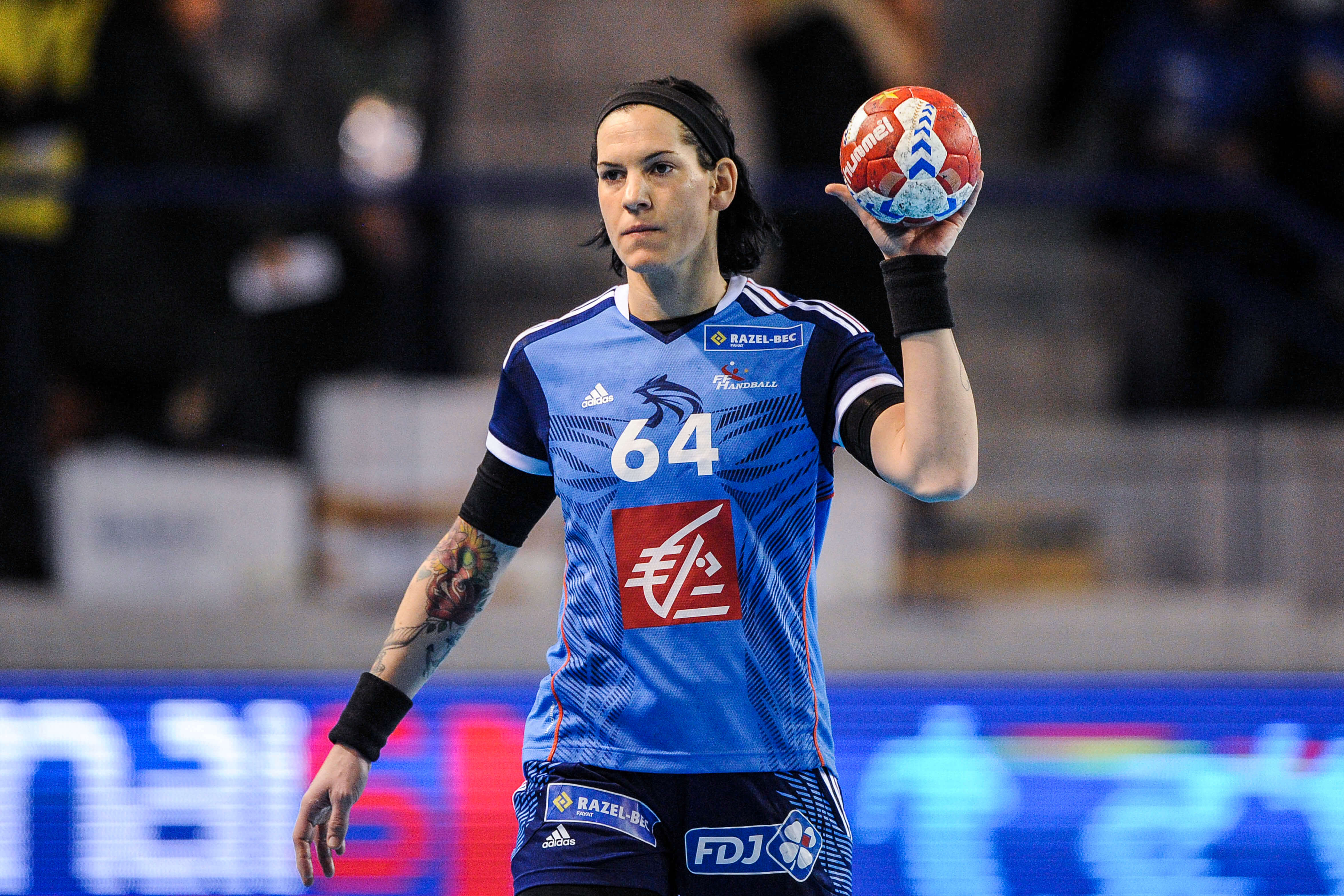Alexandra LACRABERE - 26.11.2015 - France / Roumanie - Match Amical Photo : Jean Paul Thomas / Icon Sport *** Local Caption *** -