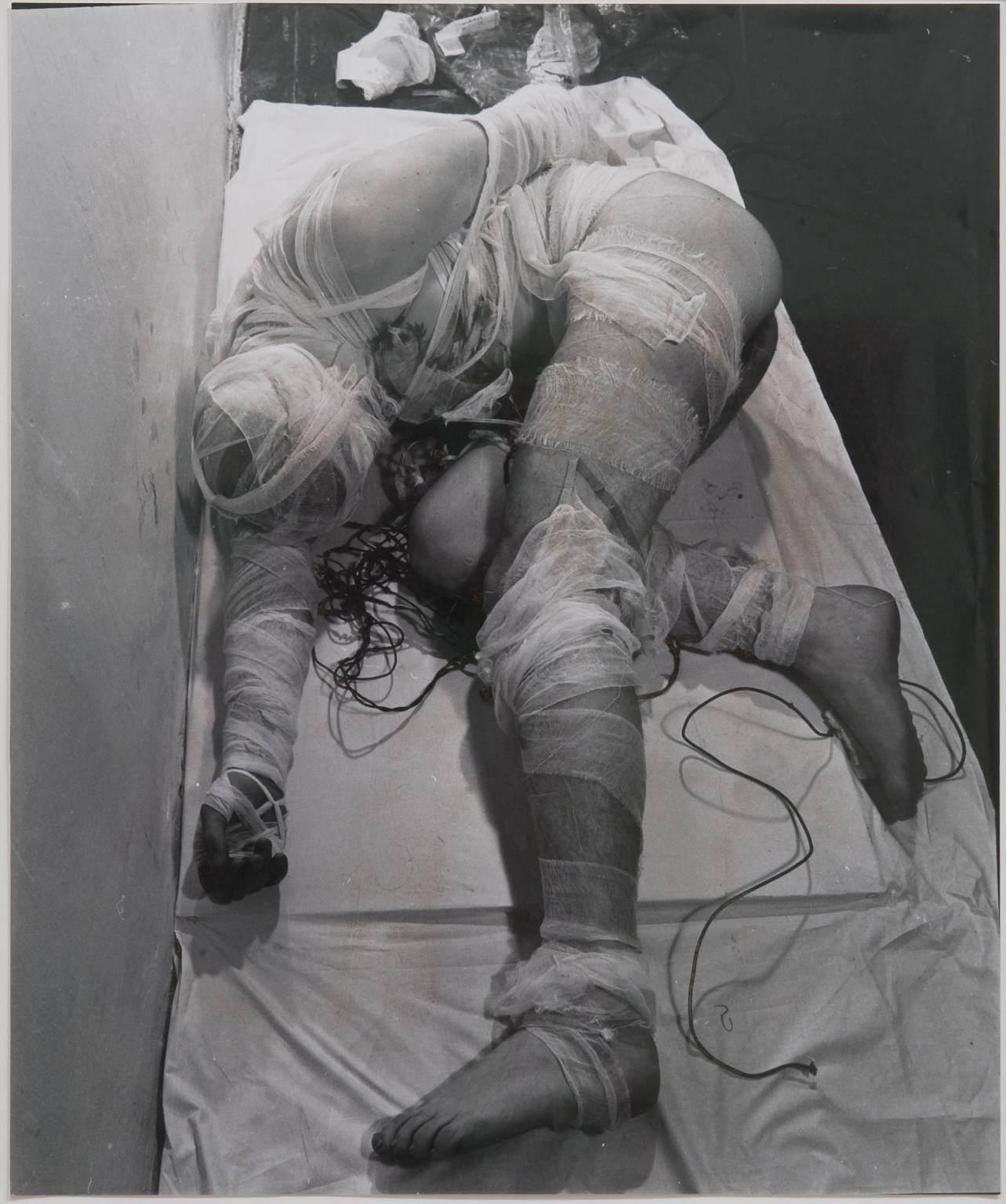 3rd Action 1965, printed early 1970s Rudolf Schwarzkogler 1940-1969 Purchased 2002 http://www.tate.org.uk/art/work/T11848