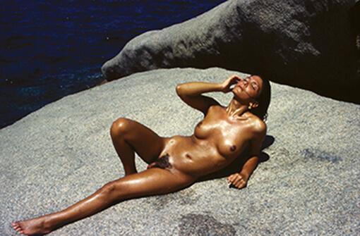 Lisa Visconti, una delle partecipanti al Gay Camp in Sardegna.