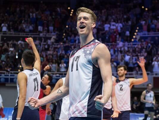 Rio 2016, Italia vs Stati uniti: chi è il giocatore di pallavolo più bono?