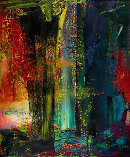 Gerhard Richter, Abstraktes Bild (Abstract Painting), 1986