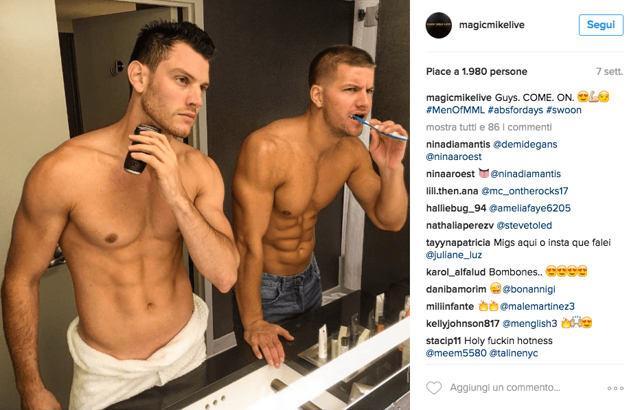 Magic Mike Live arriva a teatro: ecco le foto più hot degli stripper