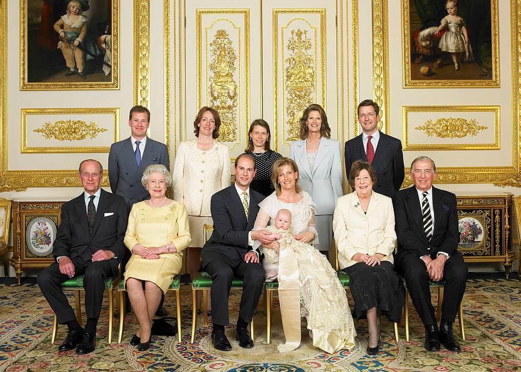 Primo outing nella famiglia reale