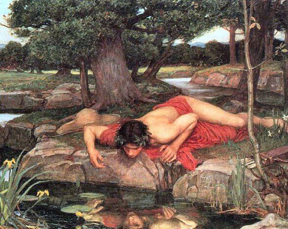 classic-greek-myth-art-print-narcissus-by-waterhouse