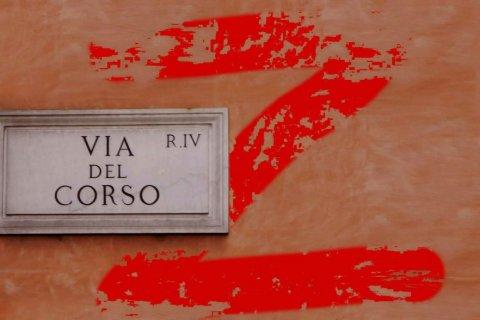 Via del Corso, Roma. Gay.it