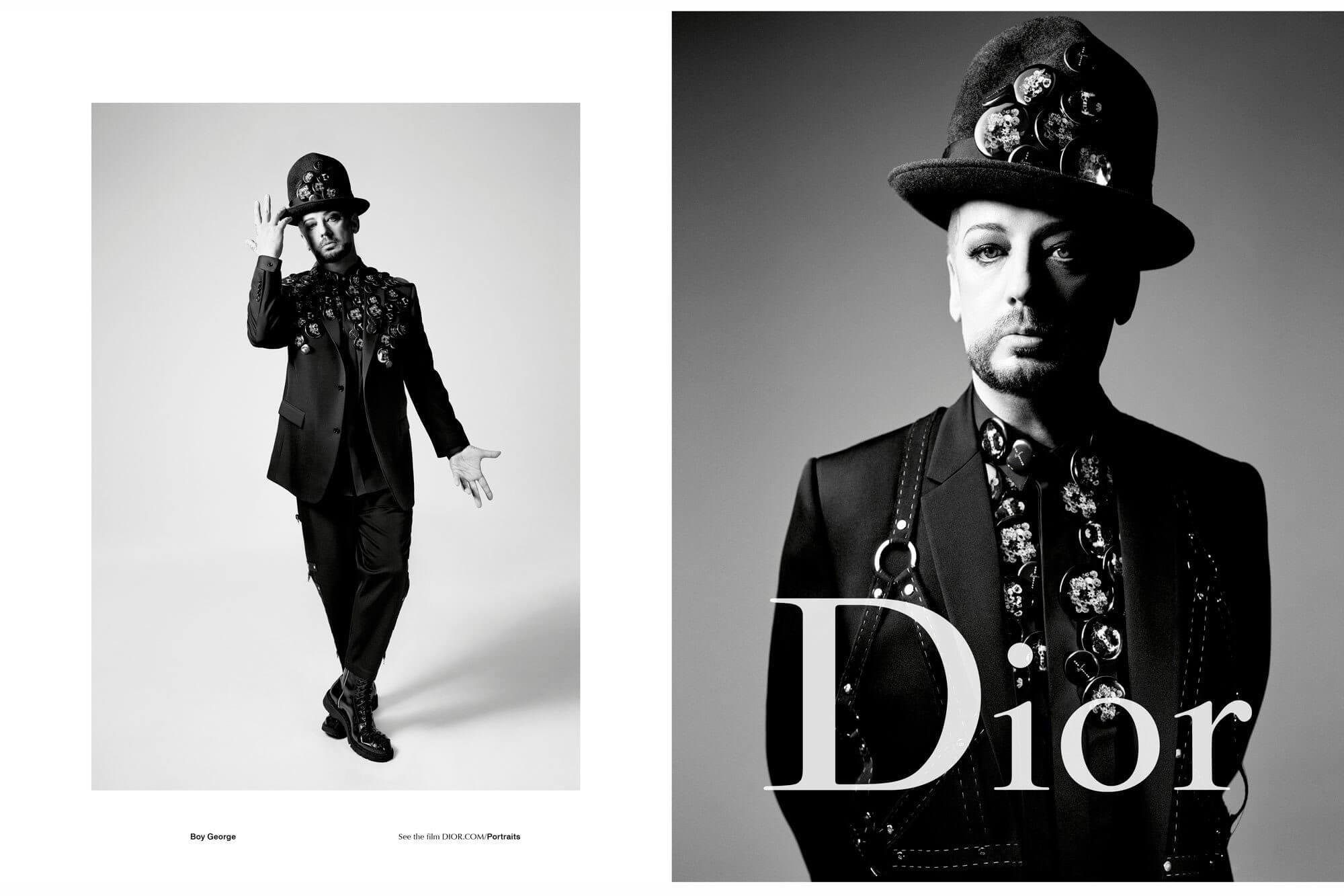 Boy George è il nuovo volto scelto per la campagna di Dior