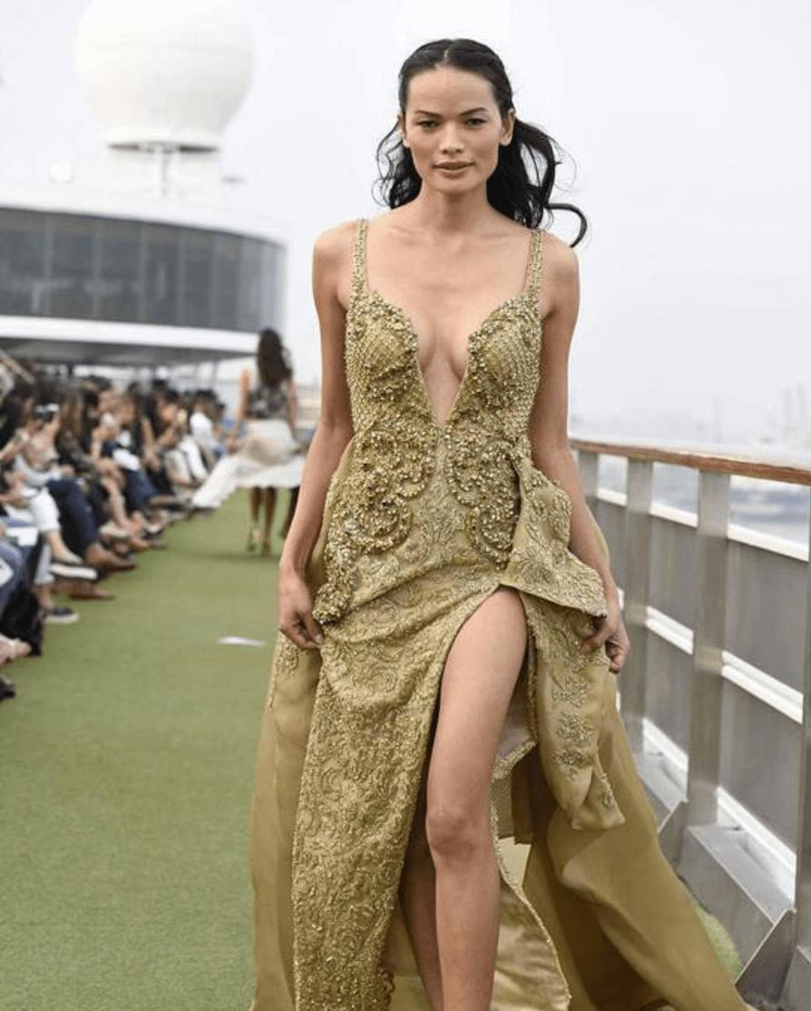 Ecco Anjali Lama, prima modella trans alla fashion week in India