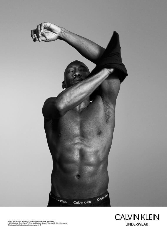 Il cast di Moonlight nella nuova campagna underwear di Calvin Klein