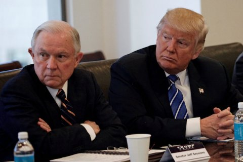 jeff sessions donald trump stati uniti governo casa bianca