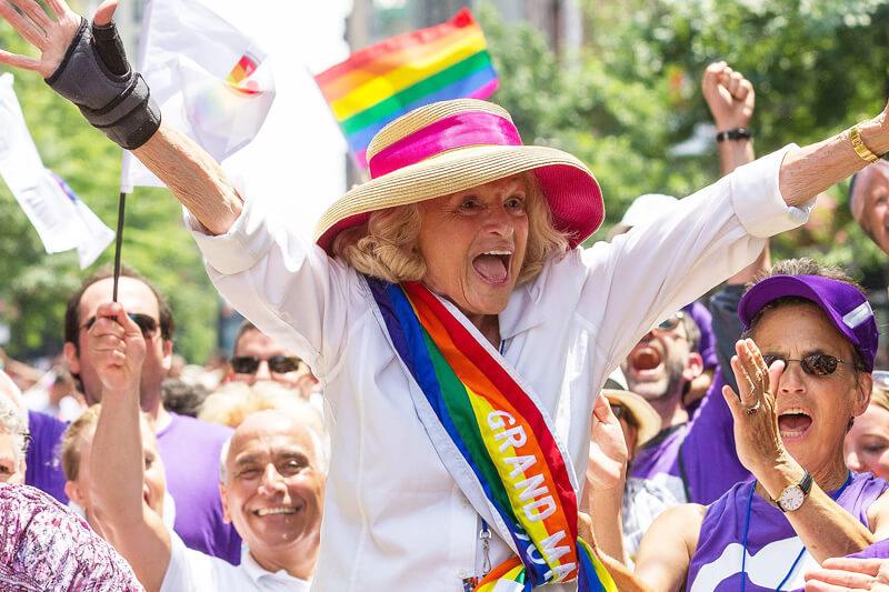 Matrimonio Gay In Usa : È morta edith windsor pioniera del matrimonio gay negli
