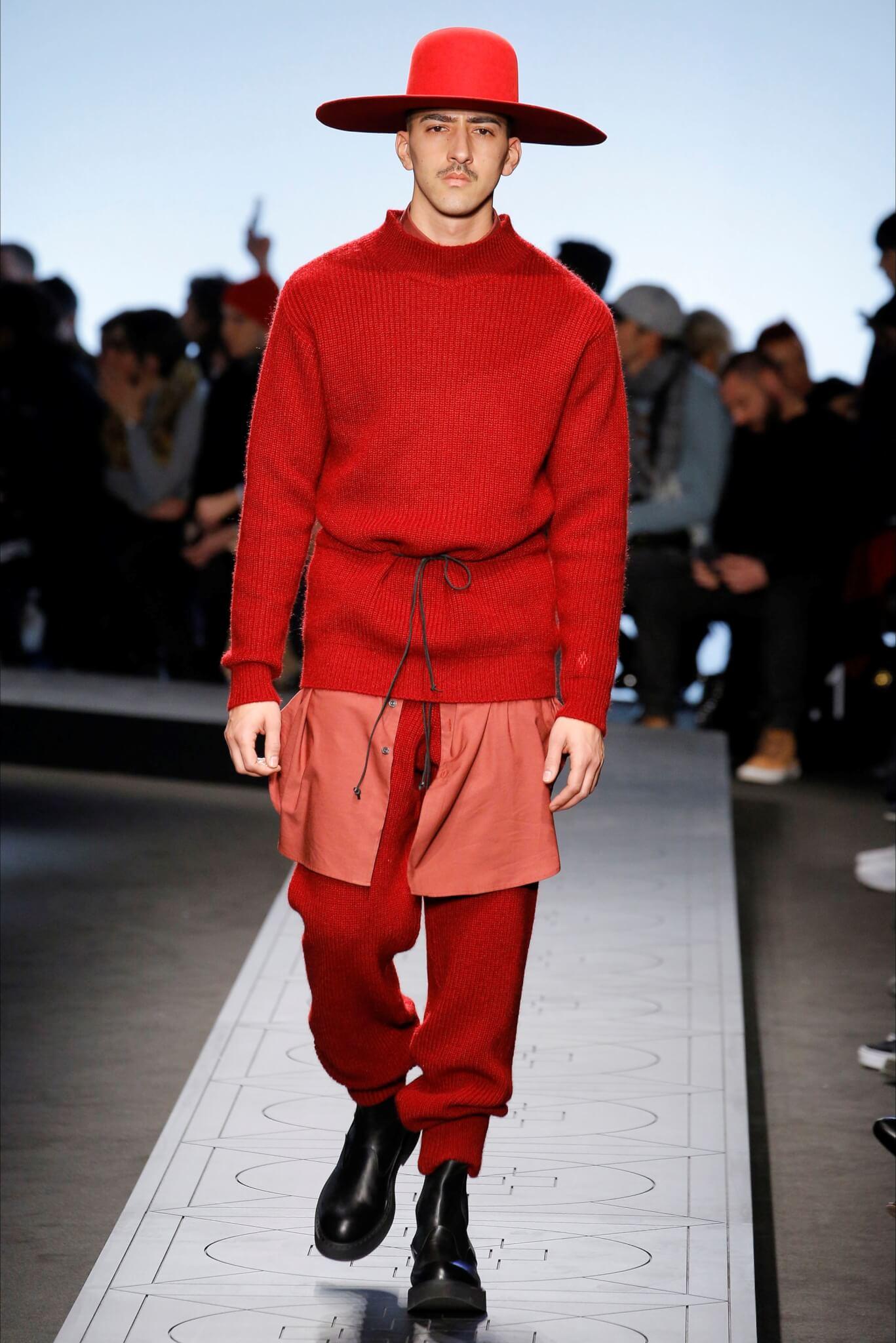 moda difficile maschile Il della re il da Rosso così portare nuovo 8X8Fq6gZ